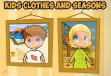 Kids Clothes & Seasons, una app para vestirse adecuadamente