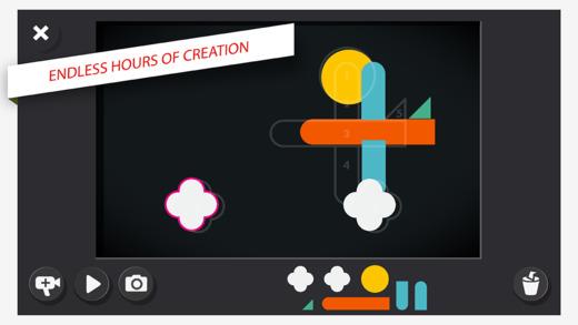 Fotograma del entorno de edición de vídeo de la aplicación.