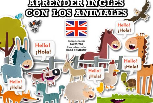 learn english with animals