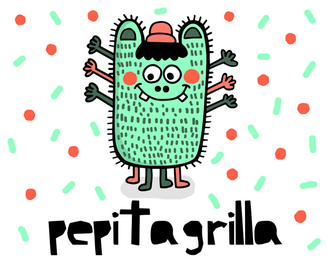 Banner Pepitagrilla