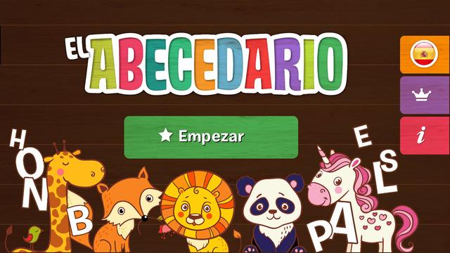 abecedario para niños muy animal frikids