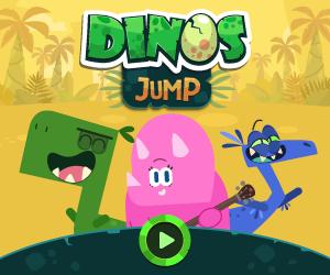 banner dinos jump