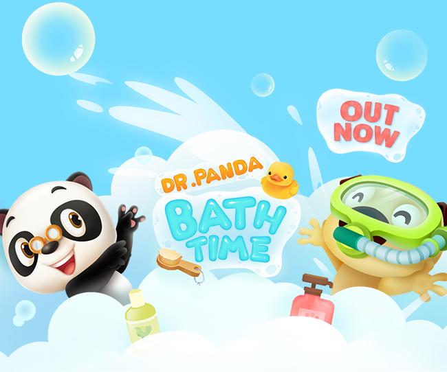 banner Dr. Panda hora del baño