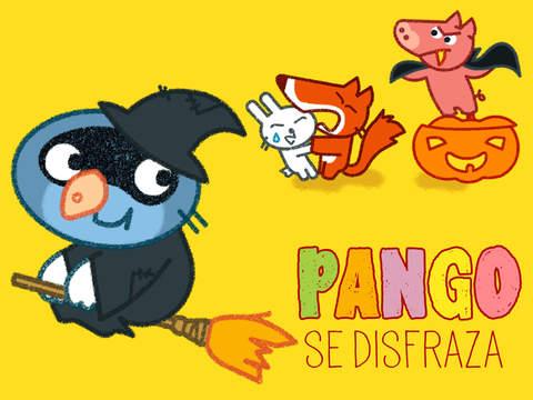 Banner Pango se disfraza