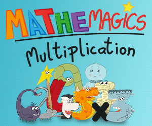 banner Mathemagics Multiplication