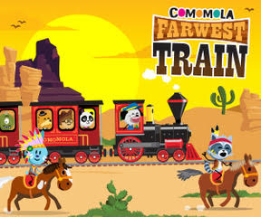 banner comomola farwest train