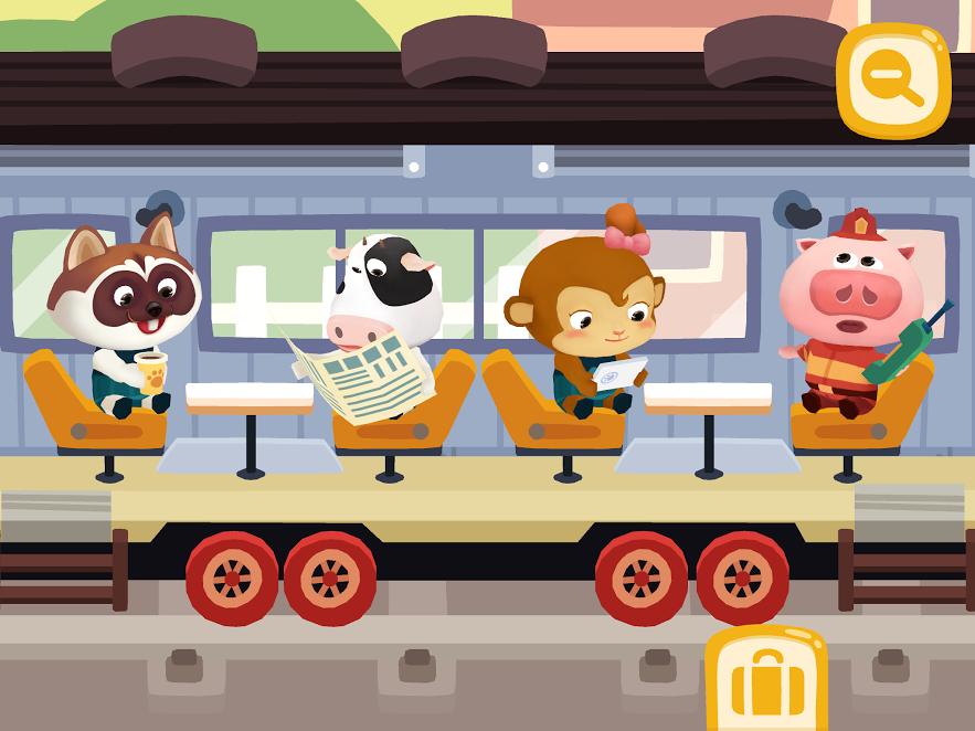 banner Dr. Panda Train