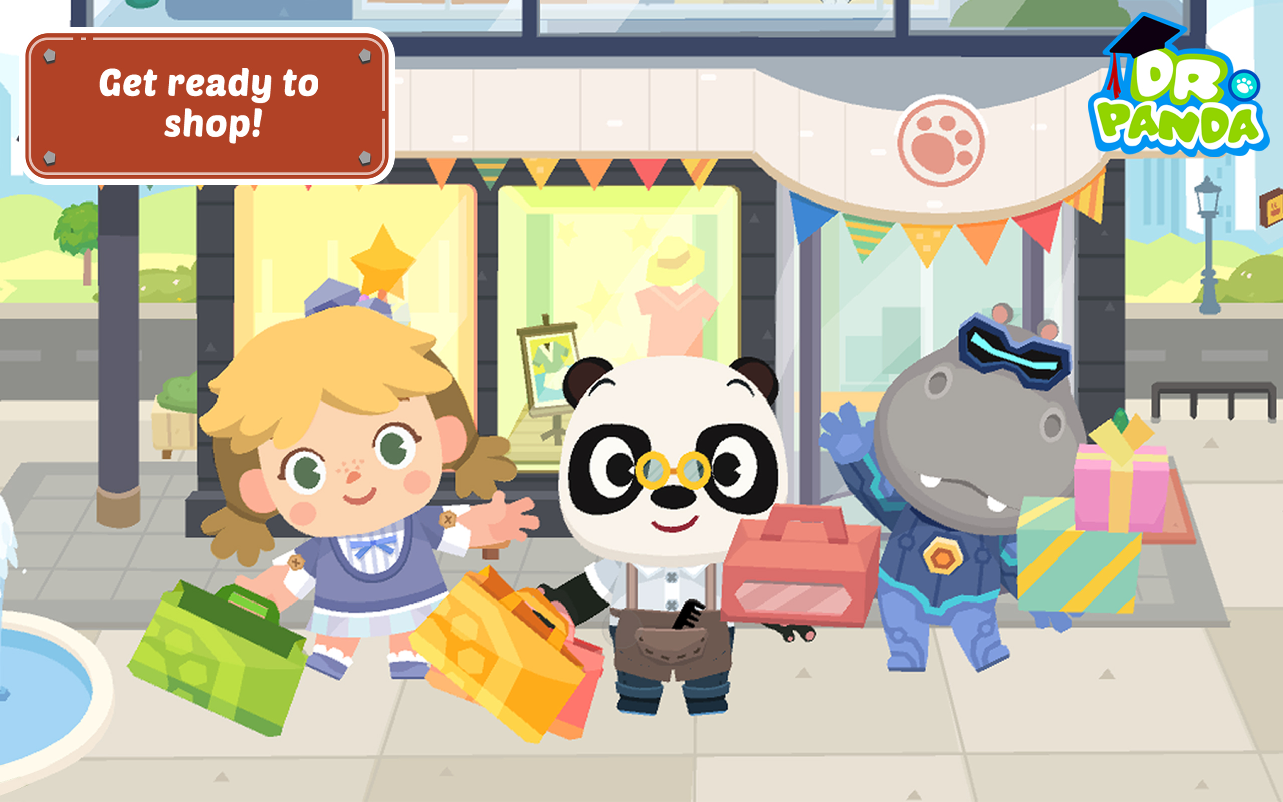 banner Dr. Panda Shopping
