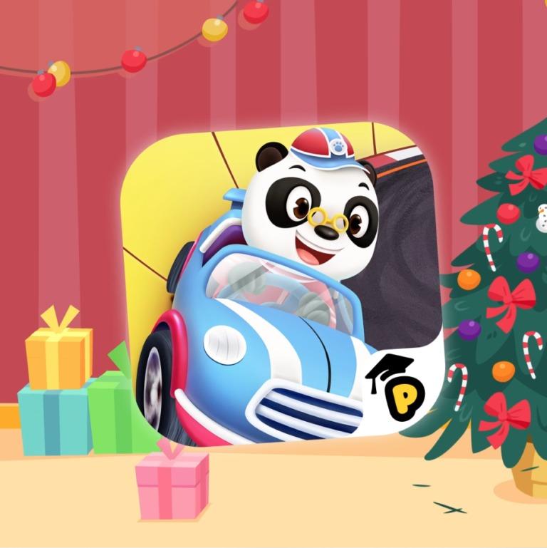 Regalo navideño con Dr. Panda Racers