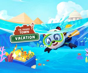 Banner Dr. Panda Ciudad: Vacaciones