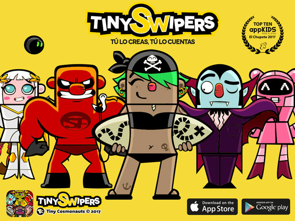 Banner Tiny Swipers